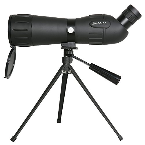 New Gskyer 20-60x60 Spotting Scope Bird Watching Target Shooting Monocular Telescope