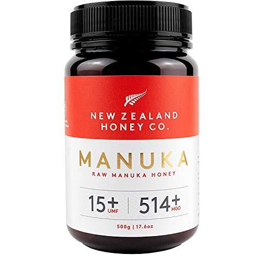 New Zealand Honey Co. Rauwe Manuka-honing UMF 15+ / MGO 514+ | 500g