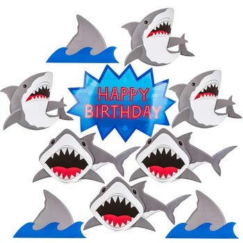 Shark Cut Out - Shark Party Cut-Outs Birthday Party Supplies