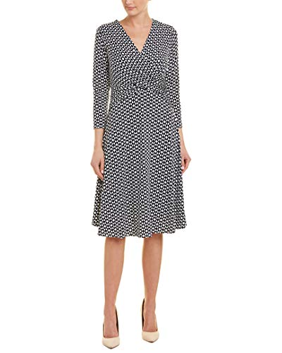 Brooks Brothers Model - Brooks Brothers Womens A-Line Dress, S, Blue