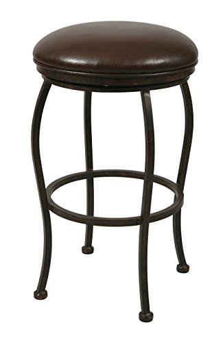 Impacterra QLIF215239945 Island Falls Backless Stool, 30