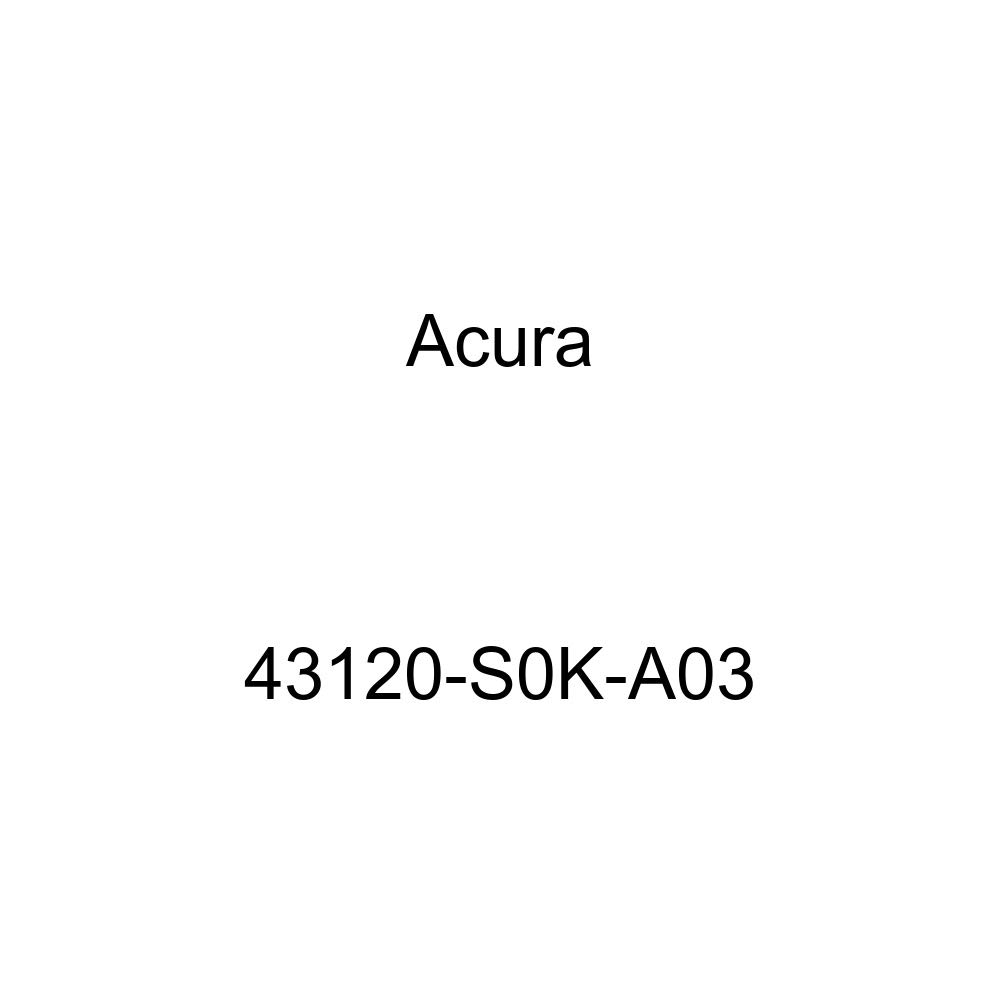 Acura 43120-S0K-A03 Parking Brake Backing Plate
