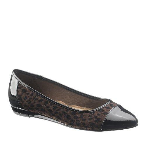 Mjuk Stil Kvinna Danyel Slip På Komfort Mode Lägenheter Leopard
