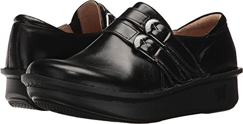 Alegria Women's Alli Jet Luster Clog Shoe (ALL-640) Size: Euro 36 \ US 6-6.5, Width: Medium