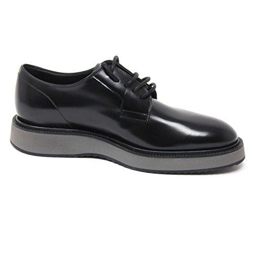 Aclaramiento De Bajo Precio B4877 scarpa classica uomo HOGAN H271 ROUTE X DERBY scarpa nero shoe man Nero Precio Barato Originales Venta Mayor Proveedor Venta Gran Venta TYaVn