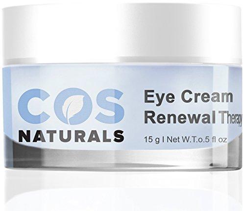 COS Naturals Eye crème renouvellement thérapie avec vitamine C E l'acide hyaluronique pour les femmes, 15 grammes (0,5 ml)