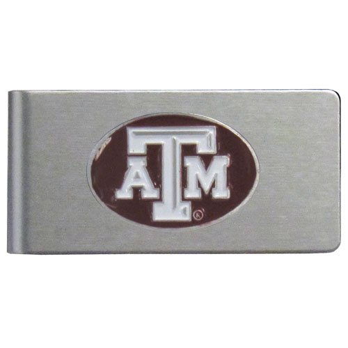 (NCAA Texas A&M Aggies Brushed Money Clip)
