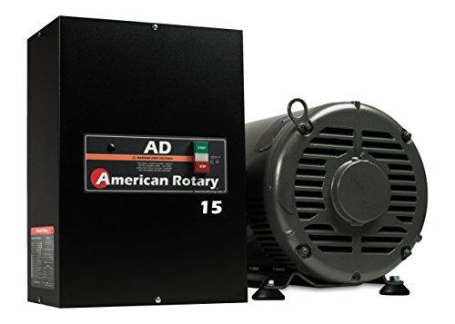 Rotary Phase Converter AD15 - 15 HP Digital Controls Heavy Duty HD CNC USA Made (Phase Hp Rotary 15 Converter)