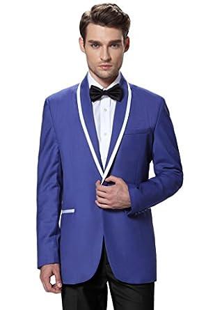 Hanayome Men's 2 Piece Tuxedo Suit - Includes Jacket and