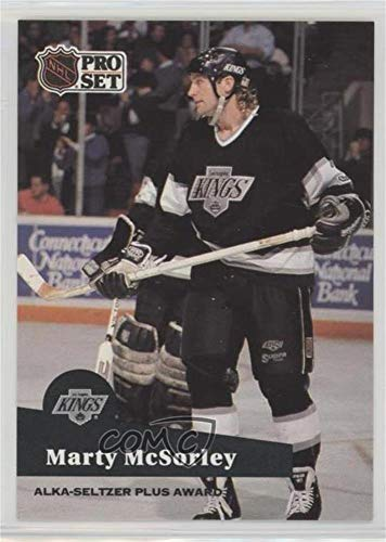Marty McSorley (Hockey Card) 1991-92 Pro Set - NHL Awards Special #AC 21