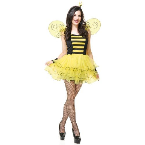 Sweet Bee Adult Costume - Large