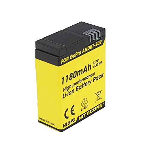nitecore-nlgp3-1180mah-37v-battery-pack-for-gopro-hero3