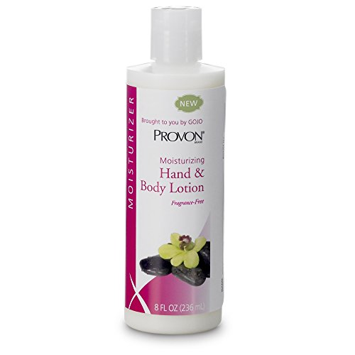 PROVON Moisturizing Hand and Body Lotion, Fragrance Free, 4 fl oz Non-Greasy Moisturizing Lotion Portable Squeeze Bottles (Case of 48) - 4331-48