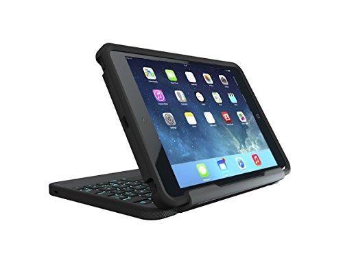 ZAGG Rugged Book Durable Case, Hinged with Detachable Backlit Keyboard for iPad Mini/Mini 2/ Mini 3 - Black by ZAGG (Image #9)