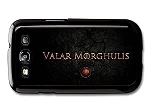 AMAF ? Accessories Game Of Thrones Valar Morghulis All Men Must Die Valyrian Quote case for Samsung Galaxy S3 Kimberly Kurzendoerfer