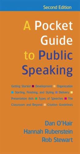 Pocket Guide Public Speaking 2e