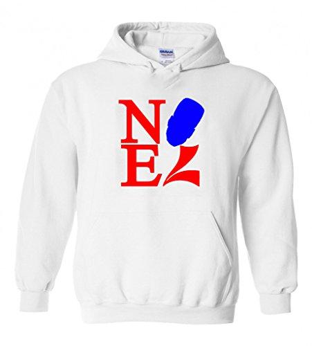 """Nerlens Noel Philadelphia 76ers """"Love Park"""" Hooded Sweatshirt ADULT LARGE"""