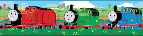 Thomas Train Engine Friends Set of 4 Self-Stick Wall Borders