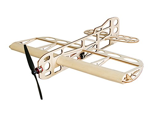 Model Aircraft Servos (RC Airplane Balsawood Airplane Geebee Wingspan 600mm Laser Cut Balsa Wood Model Plane Building)