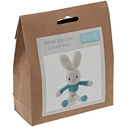 Trimits Crochet Kit: Bunny: Blue, Assorted, One Size