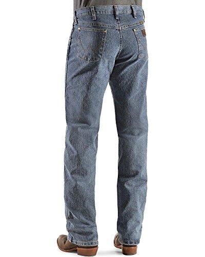 Wrangler Men's Premium Performance Advanced Comfort Cowboy Cut Reg Jean, Mid Tint, 38W x 34L (Best Karate Man In The World)