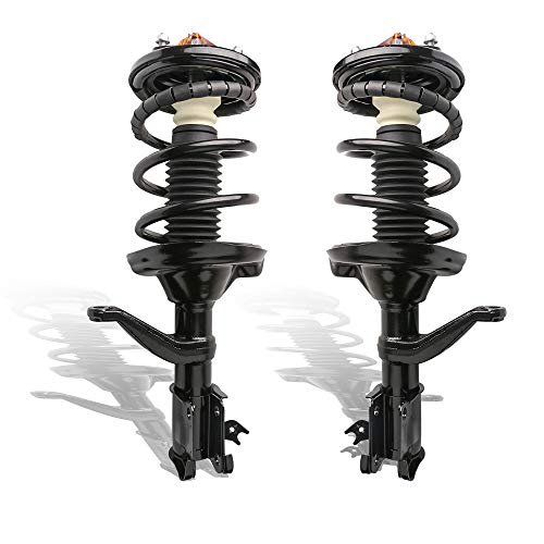 SCITOO 2pcs Macpherson Struts Coil Spring Compressors Garage Tool with Dent Pins