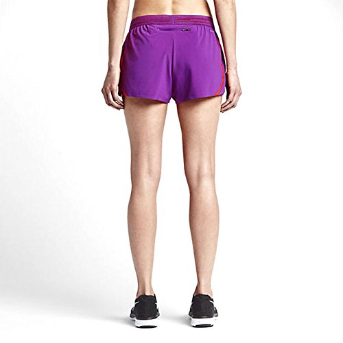 Nike Womens Aeroswift Race Shorts Violett / Hellkarmesinrot
