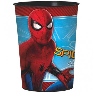 16 Ounce Spiderman Homecoming Birthday Party Favor Cup