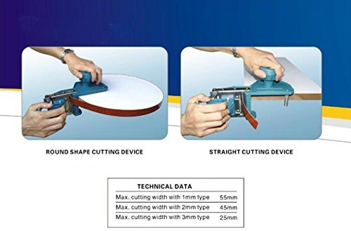 New Portable WoodWork Edge Banding Machine Straight and Round Shape Cutting Device by Home & Garden (Image #7)