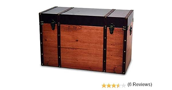 BUAR ARTESANOS Baul de Madera para Almacenamiento Classic (60x30x30 cm.)