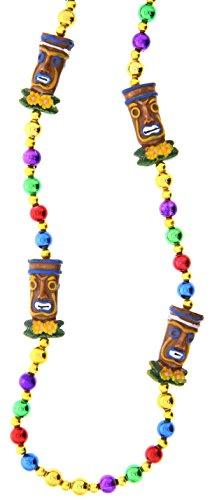 Beautiful Hawaiian Tiki God Bead Necklace