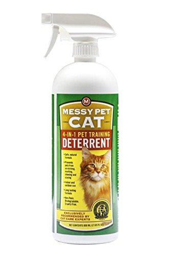 MESSY PET CAT 4-in-1 Pet Training Deterrent, 27.05 oz.