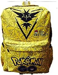 Pokemon GO Team Instinct Full Size Backpack