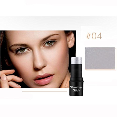 Ourhomer Shimmer Stick Waterproof Lasting Makeup Natrual Cre