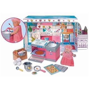 Zapf 766736 - B.BORN MINIWORLD Küchen-Set: Amazon.de: Spielzeug