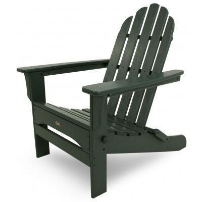 Ergodyne Trex Outdoor Furniture Cape Cod Folding Adirondack Chair