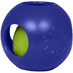 Jolly Pets 10-Inch Teaser Ball, Blue