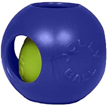 Jolly Pets 8-Inch Teaser Ball, Blue
