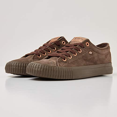 British Knights Low Brown Brown Top Sneakers Women's Lo 03 Brown Dk Dk Master ffqdxrUw