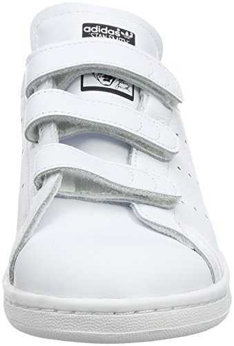 Adidas Dames Stan Smith Cf W, Wit / Zwart Wit / Zwart