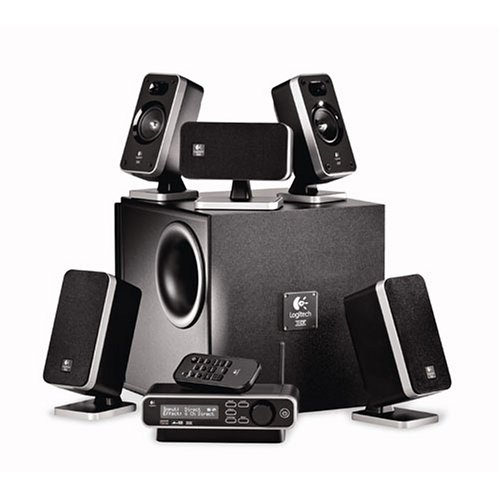 Logitech Z-5450 Digital 5.1 Speaker System ( 970181-0403 ) by Logitech
