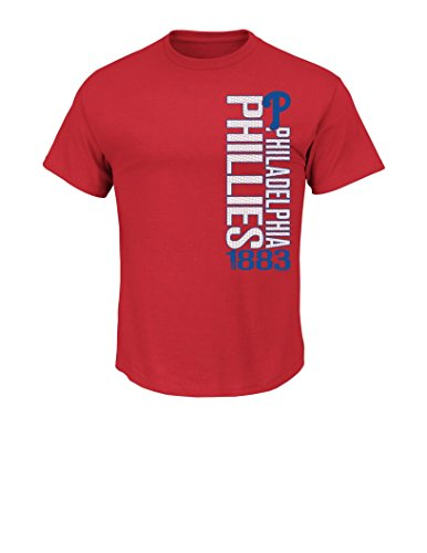 Philadelphia Phillies Red Game (MLB Philadelphia Phillies Men's Our Game Tee, Large, Red)