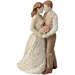 More Than Words Celebration Cake Topper Figurine by Arora Design Ltd