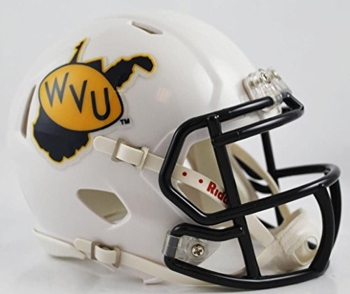 West Virginia Mountaineers Riddell Speed Mini Replica Throwback Football (Virginia Throw)