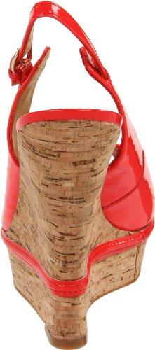 Luxury Rebel Mujer Carolyn Wedge Pump Coral
