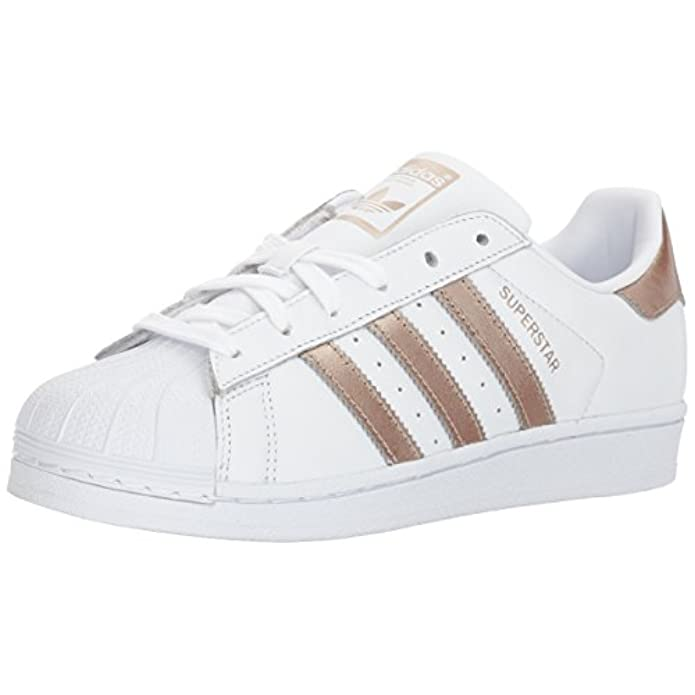 Adidas Originals Superstarfashion Sneaker Bianco white cyber Gold white 38 Eu
