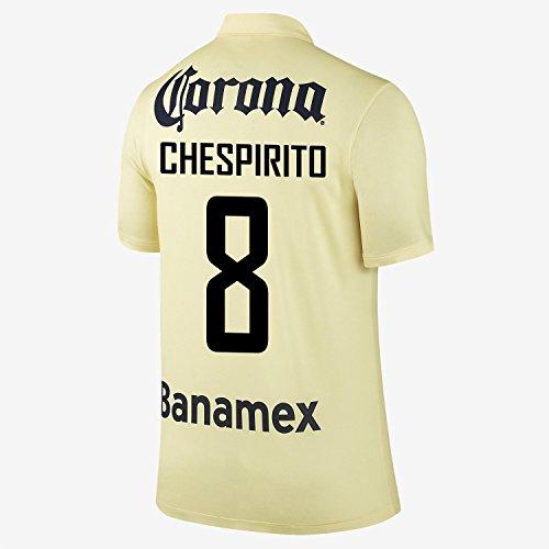 コインランドリー言うまでもなく進行中Nike Chespirito #8 Club America Home Jersey 2014-15 YOUTH/サッカーユニフォーム クラブ?アメリカ ホーム用 チェスビリト 背番号8 ジュニア向け