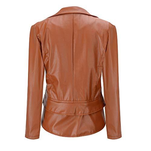 En Gilets Sport Femme Taille Moto Manteau Fit Veste Faux