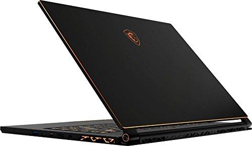 """MSI GS65 Stealth THIN-037 Laptop, 15.6"""" 144Hz 7ms FHD Display, Intel i7-8750H 2.2GHz, 16GB DDR4, 512GB SSD, GTX 1070 8GB, 802.11ac, Bluetooth, Win10H (Renewed)"""