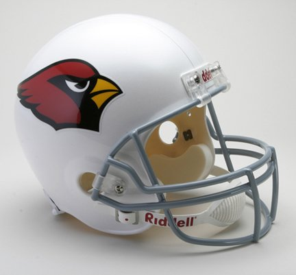 NFL Arizona Cardinals Deluxe Replica Football Helmet